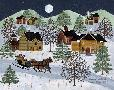 Medana Gabbard Snowy Sleigh Ride