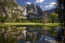 Mike Jones Photo Yosemite Falls Reflection