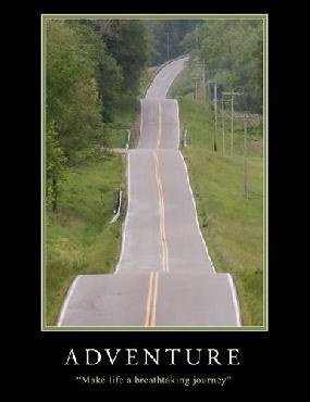 Monte Nagler Adventure Motivational Canvas