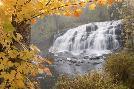Monte Nagler Lower Bond Falls In Autumn #2, Bruce Crossing, Mi 11