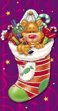 Ratru Christmas Stockings And Bears 5