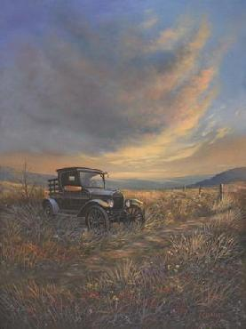 Rod Bailey A Day Gone By Canvas