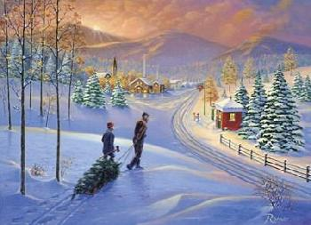 Rod Bailey Holiday Tradition Canvas
