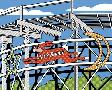 Ron Magnes Jack Rabbit Roller Coaster