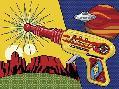 Ron Magnes Vintage Toy Laser Gun