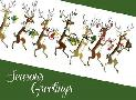 Tim Wright Line Of Reindeer