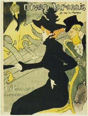 Henri De Toulouse-Lautrec Divan Japonais Canvas