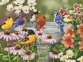 William Vanderdasson Garden Birdbath