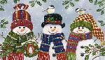 William Vanderdasson Snowman Trio