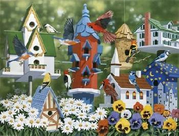 William Vanderdasson Birdhouses