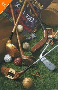 William Vanderdasson Golf Antiques   LAST ONES IN INVENTORY!!