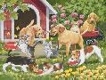 William Vanderdasson Puppies And Kittens  -  Spring And Summer