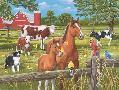 William Vanderdasson Spring Summer Pasture Scene