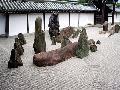 Shin Terada Stone Zen Garden, Kyoto, Japan