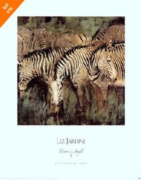 Liz Jardine Heart of the Jungle I   LAST ONES IN INVENTORY!!