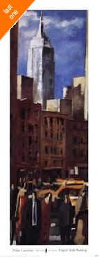 Didier Lourenco Empire State Building   LAST ONES IN INVENTORY!!
