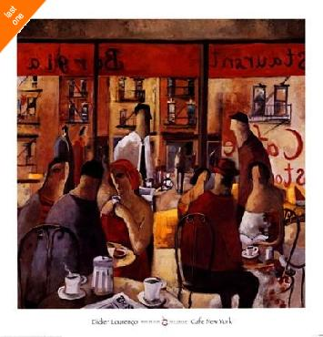 Didier Lourenco Cafe New York Oversized LAST ONES IN INVENTORY!!