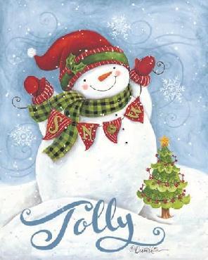 Diane Kater Jolly Snowman