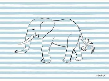 Martina Pavlova Elephant In Stripes