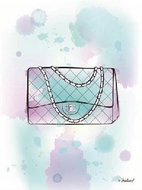 Martina Pavlova Chanel Aqua Bag