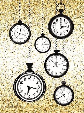 Martina Pavlova Glitter Watches