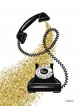 Martina Pavlova Glitter Phone