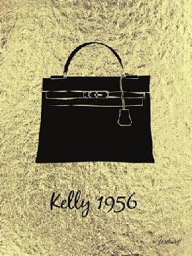 Martina Pavlova Golden Kelly Treasure Canvas