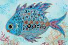 Jennifer Peck Lizzie  -  Diamond Back Water Fish