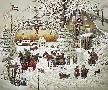 Charles Wysocki Christmas Greeting 1989