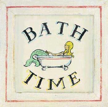 Zaricor Bathtime II Canvas