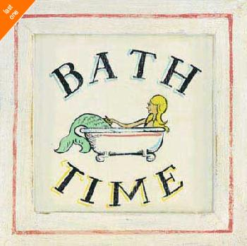 Zaricor Bathtime II Canvas LAST ONES IN INVENTORY!!