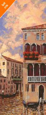 D J Smith Venice Sunset I Canvas LAST ONES IN INVENTORY!!