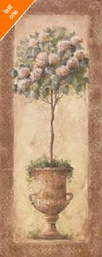 Sylvan Lake Collections Floral Topiary I Canvas LAST ONES IN INVENTORY!!