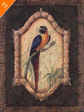 Sylvan Lake Collections Tropical Bird I Canvas LAST ONES IN INVENTORY!!