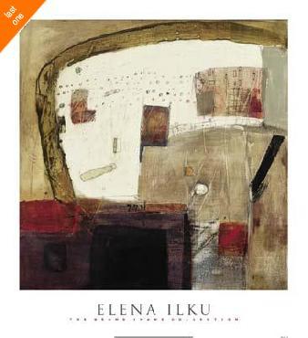 Elena Ilku Chaos 2 Canvas LAST ONES IN INVENTORY!!