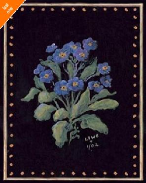 Sylvan Lake Collections Purple Floral NO LONGER IN PRINT - LAST ONE!!