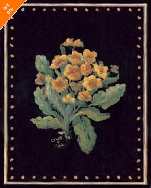 Sylvan Lake Collections Yellow Floral NO LONGER IN PRINT - LAST ONE!!