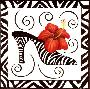 Stephanie Stouffer Shoe Hibiscus