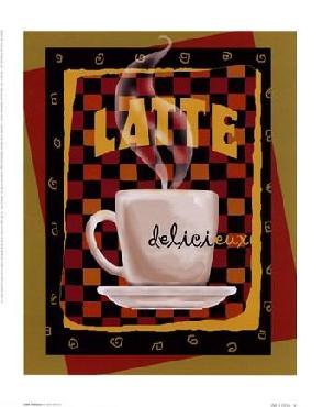 Betty Whiteaker Latte Delicieux