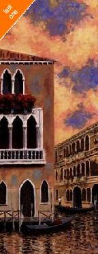 D J Smith Venice Sunset II   LAST ONES IN INVENTORY!!