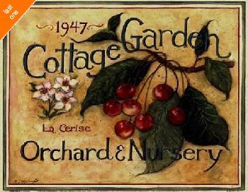 Susan Winget Cottage Garden III   LAST ONES IN INVENTORY!!