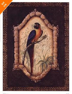 Sylvan Lake Collections Tropical Bird I   LAST ONES IN INVENTORY!!