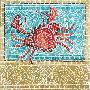 Susan Gillette Mosaic Crab