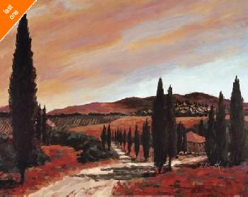 D J Smith Tuscan Sunset II   LAST ONES IN INVENTORY!!