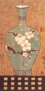Young-Mi Chi Asian Vase II