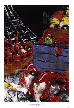 Susan Gillette Ocean Harvest I