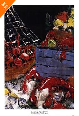 Susan Gillette Ocean Harvest I   LAST ONES IN INVENTORY!!