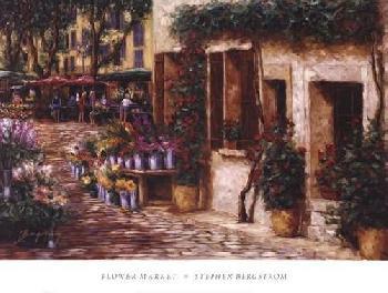 Stephen Bergstrom Flower Market