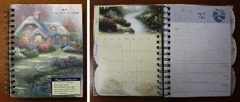 Thomas Kinkade Painter of Light Engagement 2004 Calendar