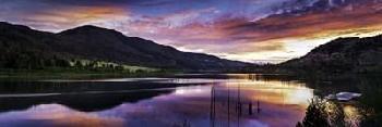 Duncan Red Hills Sunset  2 Canvas